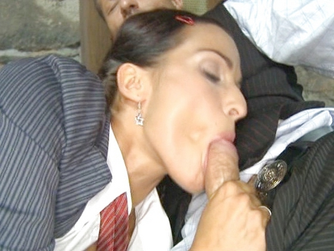 Double Penetration : Free videos for fresh Harlots Finishing school - Scene 1!