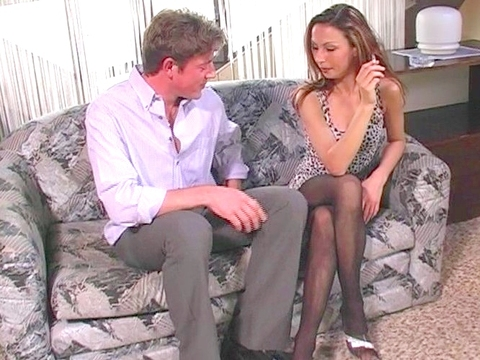 We thought Isabella Camille looked especially sexy all dressed up in some classic black lingerie. She shed her corset but kept her nylons on her shapely legs, then had some fun with Joe Monti, giving head, getting head, and, most of all, getting a wet pussy filled with cream. video