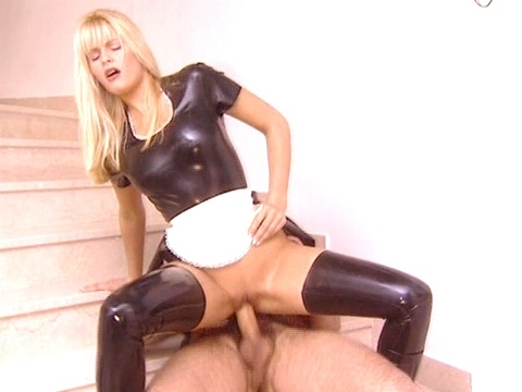 Nikki Anderson is always your best bet when you\'re looking for an afternoon of hot, hard sex. This blonde sex freak can ride a pair of dicks until they\'re sore, then keep going on for more. She could beat the Energizer bunny in an endurance contest. video