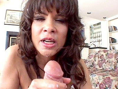 Cumshot on teri weigel