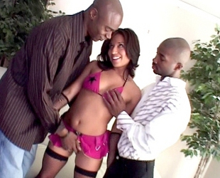 Jasmine Byrne - Interracial Hole Stretchers