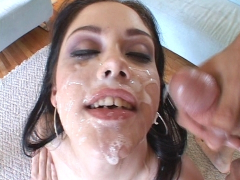 sperm splattered #2 Clip Nr.4