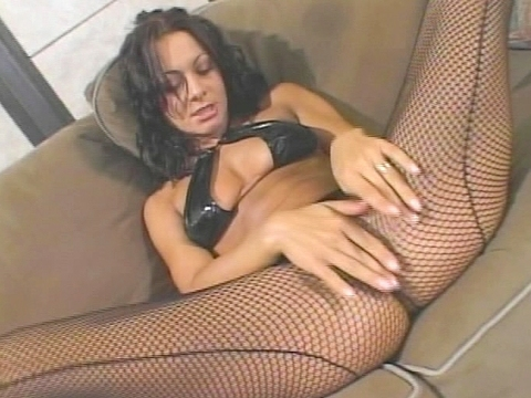 Sandra Romain always likes playing with her pussy before getting fucked. She really needed the extra warmup before taking on Lee Stone\'s huge cock. She made sure to lube him up with spit and then let him bury that big meat inside her slit and then her ass before depositing a big load of sperm in her mouth. video