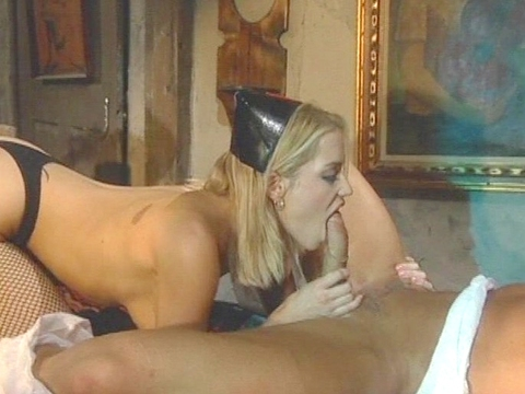Cameron Cain gives such good blowjobs you almost don\'t need to fuck her pussy to feel satisfied, and she knows it. We can only imagine how Lee Stone felt looking in her eyes as she wrapped those luscious full lips around his big dick and sucked on it in that heavenly way. video